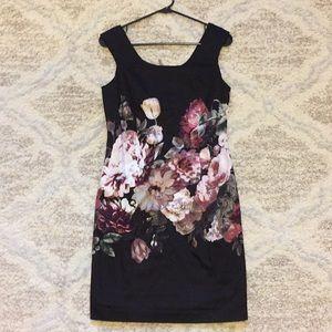 VIVIENNE TAM Border Print Dress Size 4 NWT